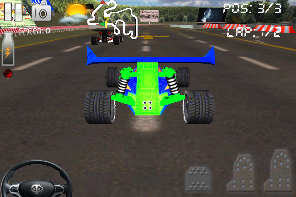 Screenshot Circuit Racer 2 – Race and Chase – Best 3D Buggy Car Racing Game